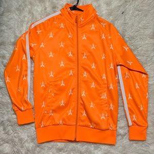 NWOT Jeffree Star Safety Orange Track Suit Jacket